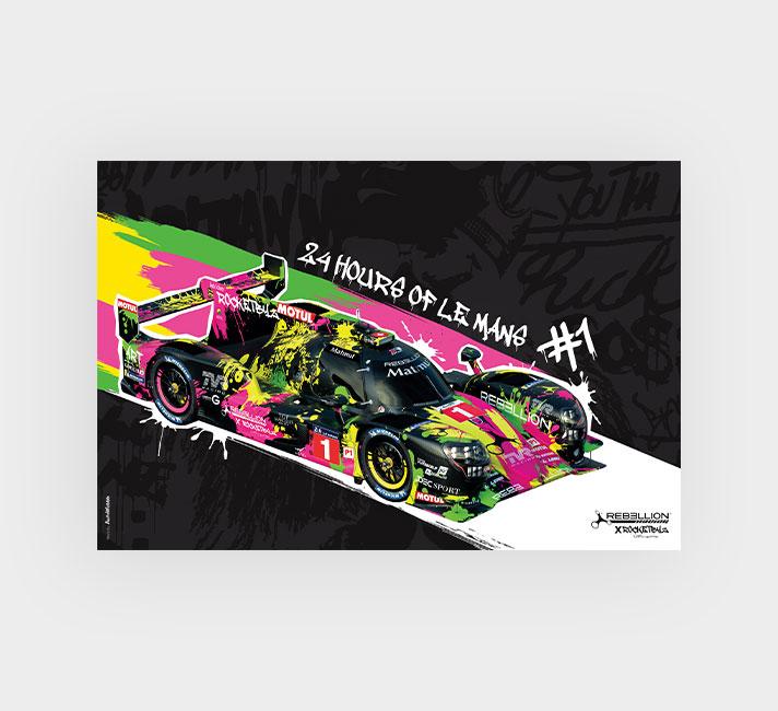 AutoWebbb - Rebellion Racing - 24 heures du mans